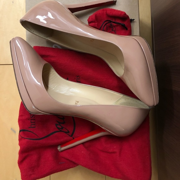 pretty nice 998bb abcf5 Christian Louboutin Pigalle Plato 120